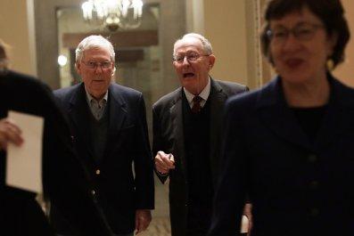 susan collins, mitch mcconnell impeachment