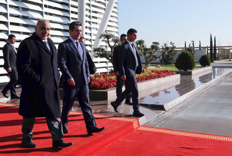 iraq, pm, kurdish, prime, minister, unrest