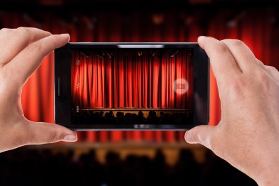 phone in theater