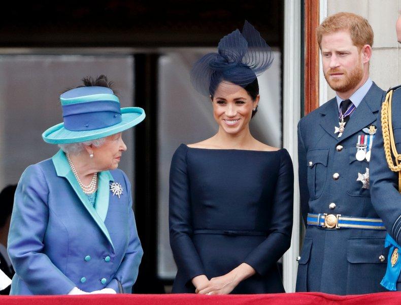 queen harry Meghan