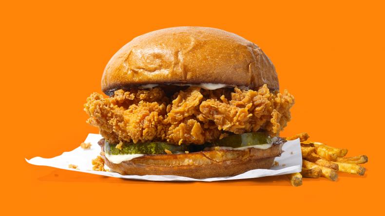 Popeyes chicken sandiwch