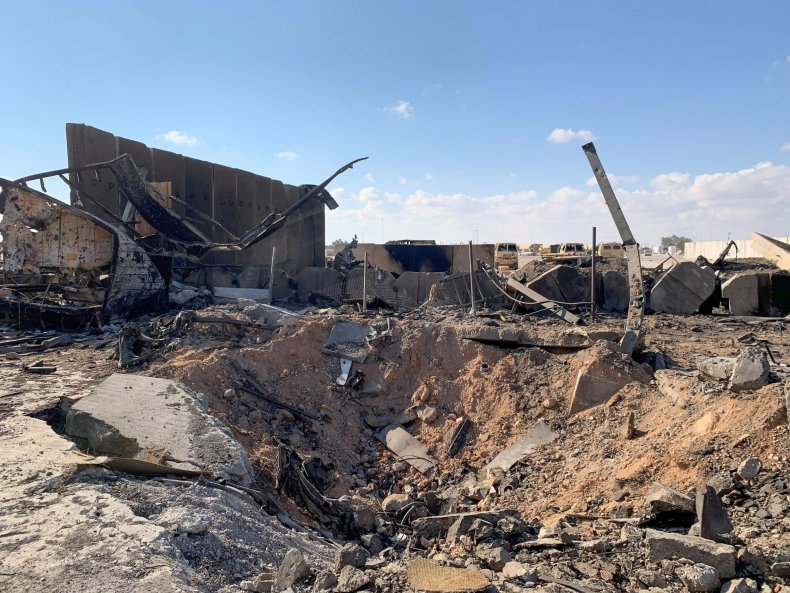 Iraq, Iran, Ain al-asad, air base, military