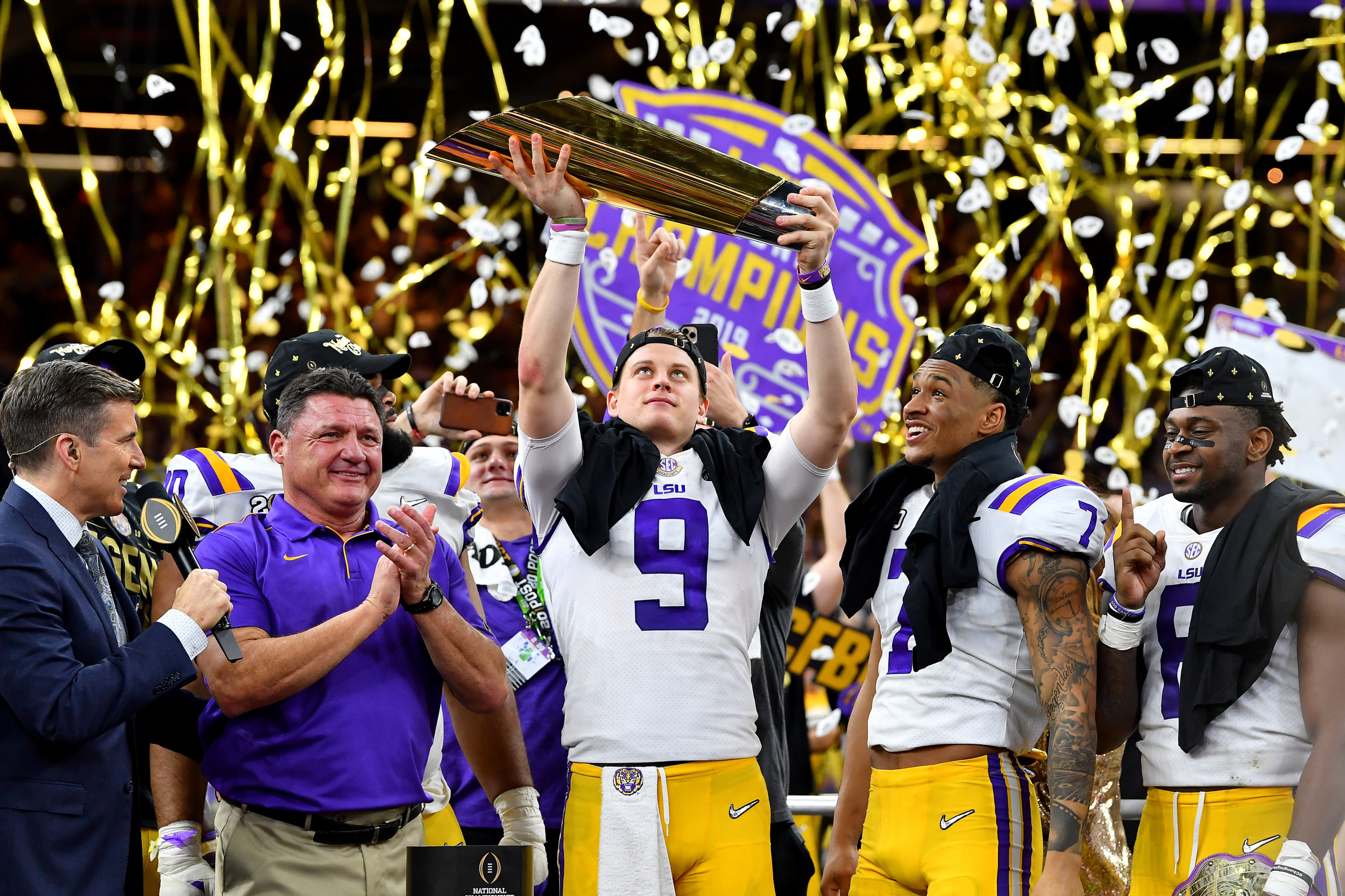 Clemson vs LSU 2020 CFP National Championship Game In-Play ...