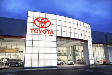 Toyota Dealership Front