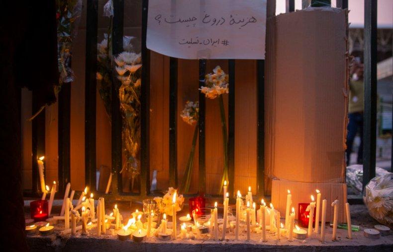 Iran vigil