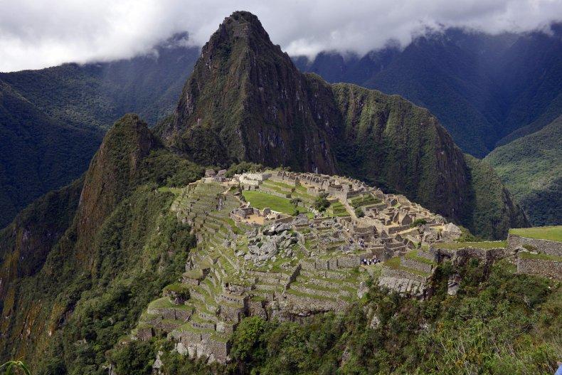 Machu Picchu Peru Inca site