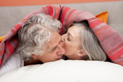 couple, bed, old, stock, getty
