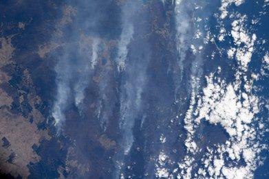 Australia fire smoke