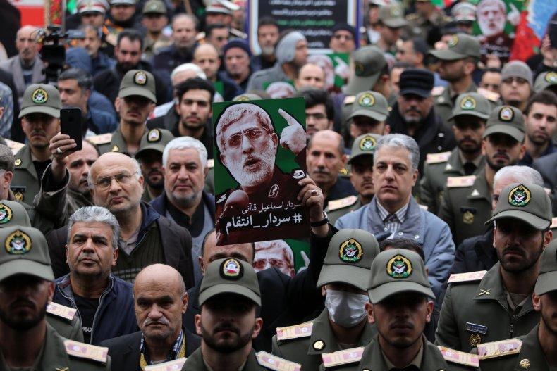 iran, revolutionary, guard, esmail, qaani