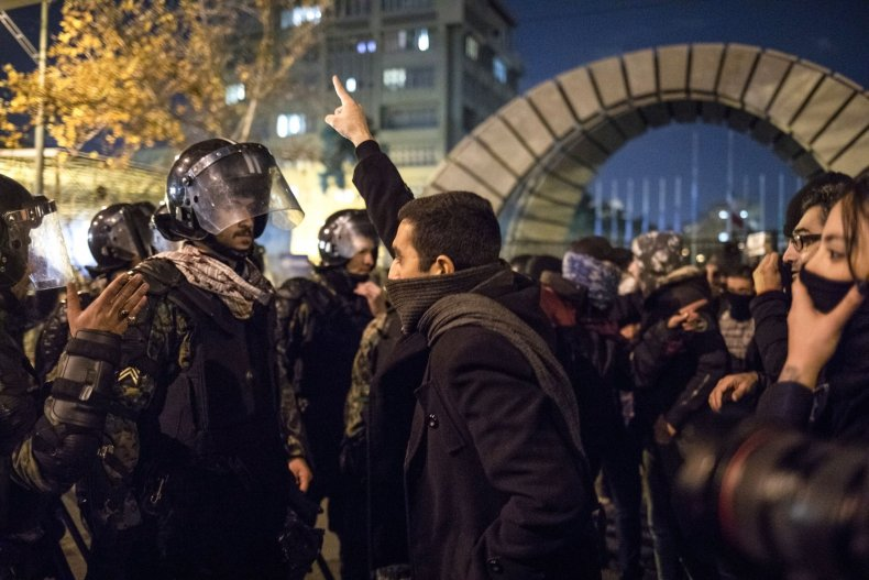 iran, protests, ukraine, flight, shootdown, tehran