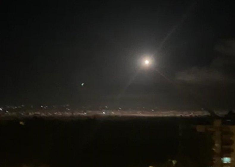 syria, air, defense, israel, airstrike, damascus