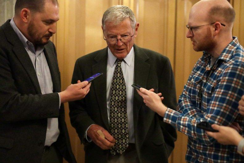 James inhofe Senate impeachment trial witnesses