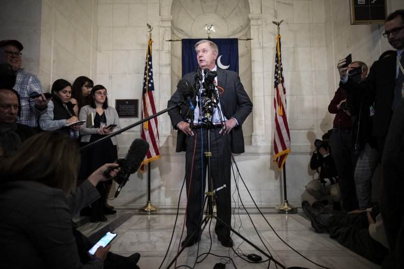 Lindsey Graham Senate impeachment trial witnesses