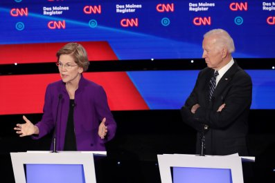 Democratic Debate Elizabeth Warren Joe Biden