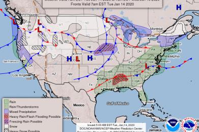 Wednesday Weather Forecast NWS Winter Storm