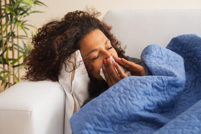 flu, cold, ill, sick, stock, getty