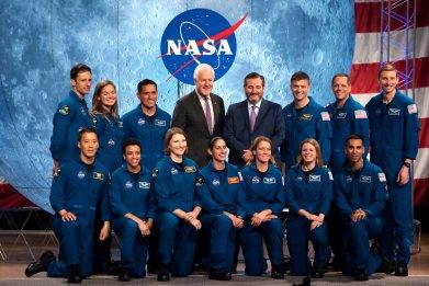 2020 NASA recruits
