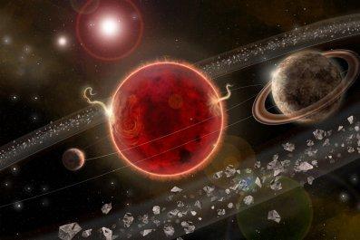 Proxima Centauri planetary system