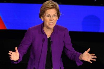 Sen. Elizabeth Warren in Iowa