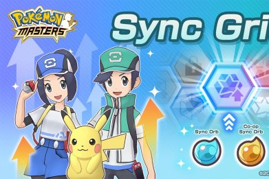 pokemon masters sync grid feature