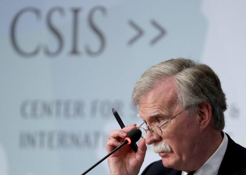 John Bolton Delivers Keynote Address At CSIS