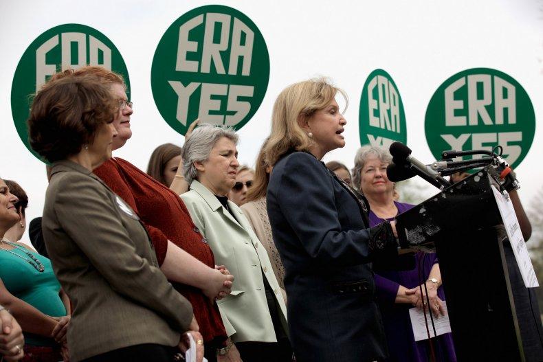 Rally Commemorating Congressional Passage of ERA