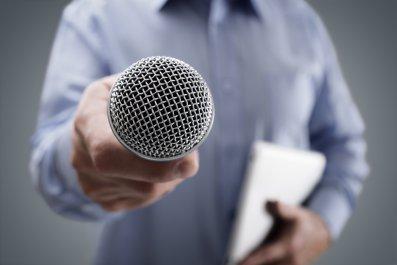 reporter, press, media