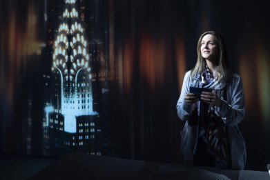 Laura Linney as Lucy Barton on Broadway