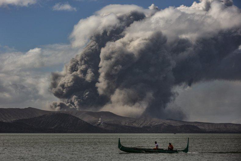 Taal Volcano Batangas Philippines January 14, 2020