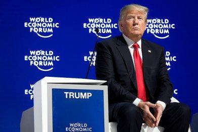 donald trump davos forum 2018