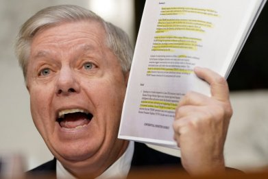 Lindsey Graham and Steele Dossier