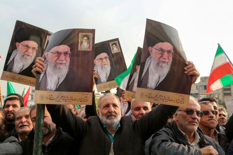Iran, Ali Khamenei, Qassem Soleimani, protests, US