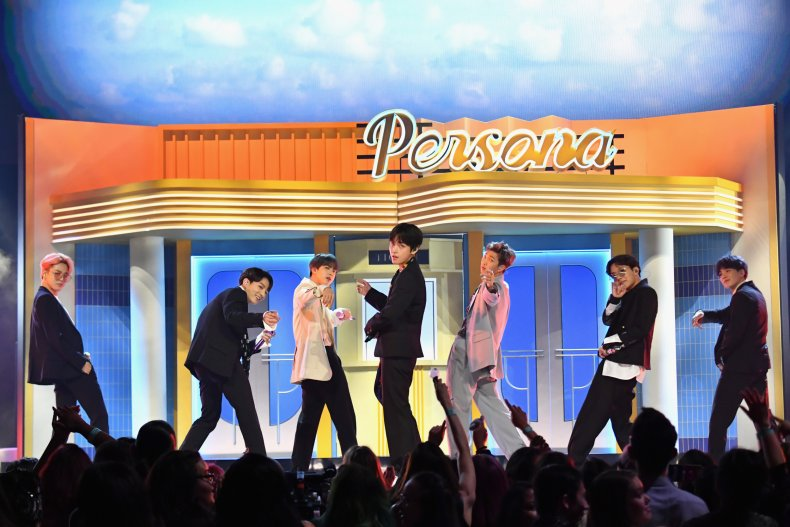 K-pop BTS Las Vegas May 2019