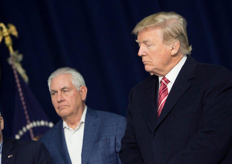 donald trump rex tillerson military spending
