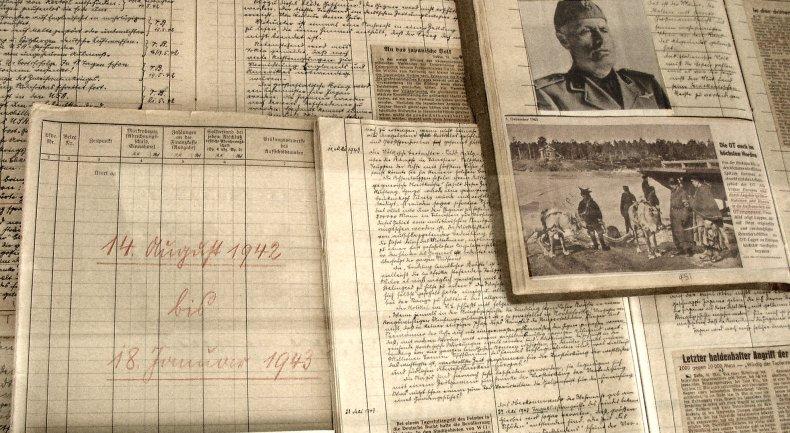 The diaries of Friedrich Kellner
