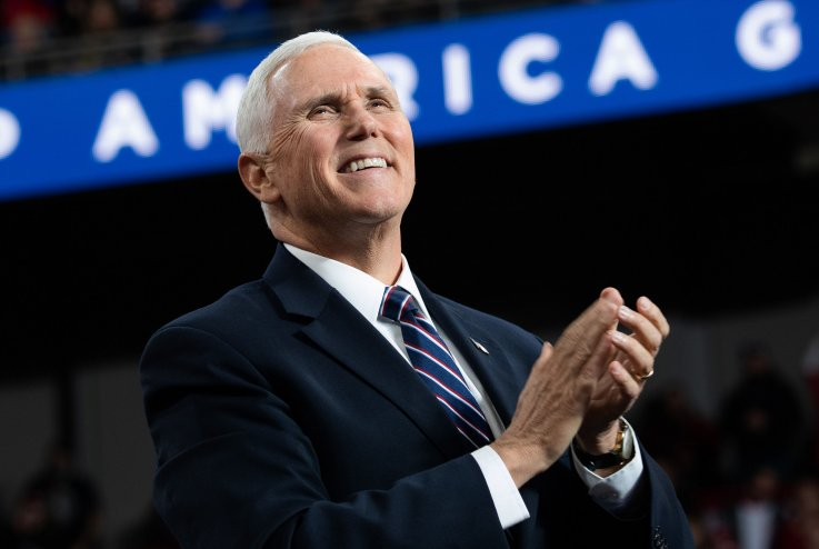 Mike Pence Praises Senator Who Was Likely Bribed to Save President Johnson in Impeachment Trial