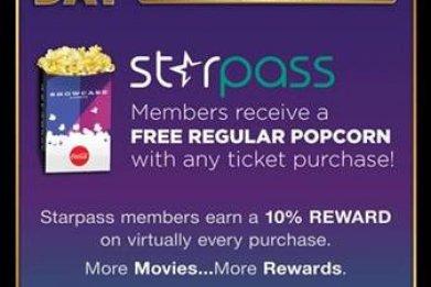 Starpass Popcorn Day