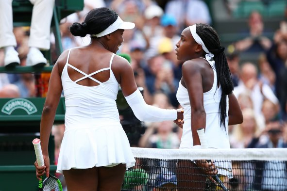 Cori Gauff, Venus Williams, Australian Open