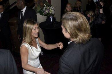 Brad Pitt and Jennifer Aniston reunion