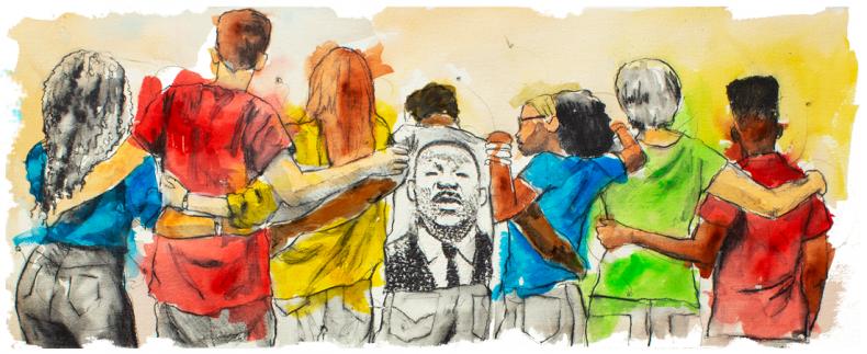martin luther king jr. day google doodle