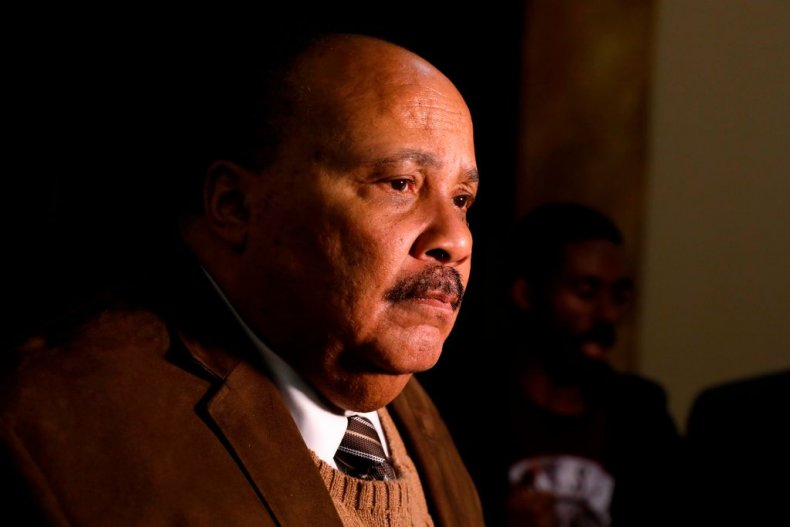 Martin Luther King III in Detroit Michigan