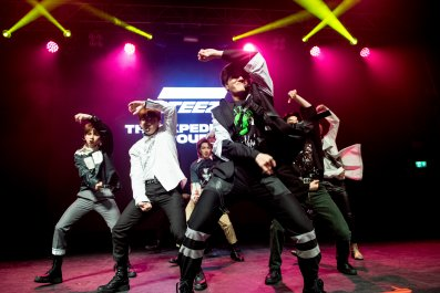 K-pop Ateez Kentish Town London 2019