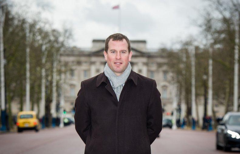 Peter Phillips, Queen's grandson