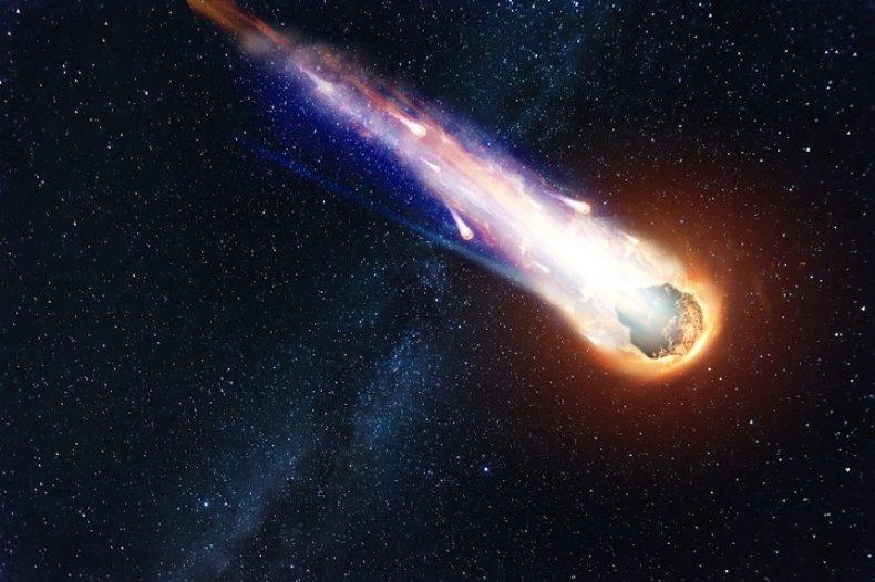 asteroid artist impression