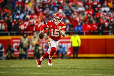Patrick Mahomes #15 Kansas City Chiefs Football