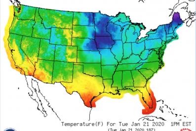 Temperature Forecast Florida