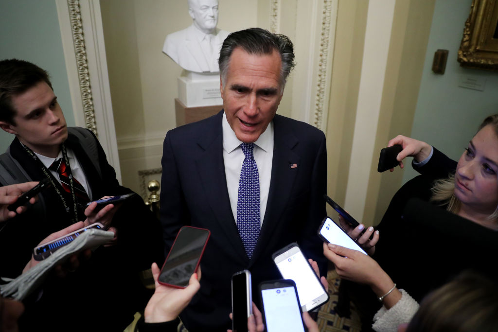 """Mitt Romney reiterates that he's """"interested"""" in John Bolton, others testifying as Trump impeachment trial gets underway"""