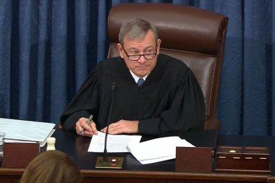 John Roberts Chief Justice Senate trial impeachment