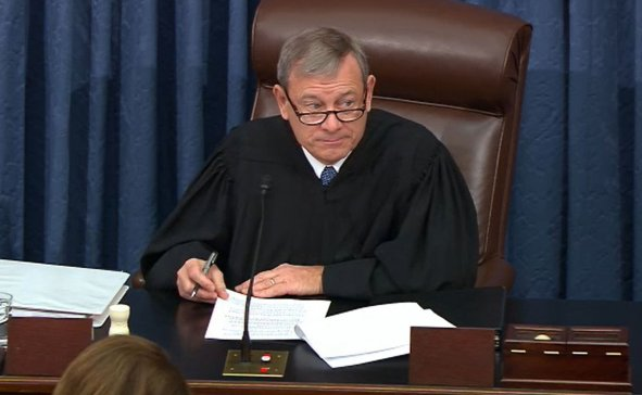 John Roberts Chief Justice Senate trial impeachment