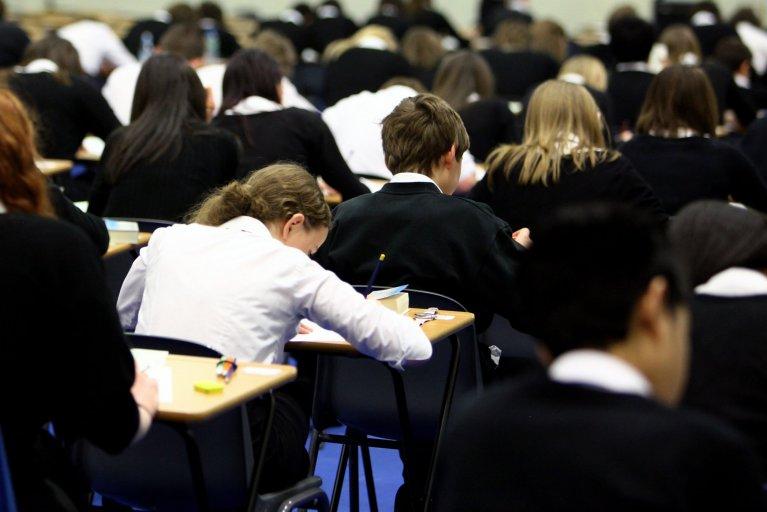students school exam test
